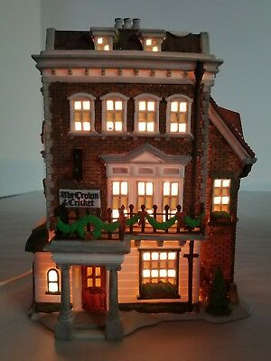 Dept 56 Dickens' Village Series Crown and Cricket Inn 1st Edition 1992 5750-9