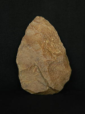 ANCIENT Quartzite HAND AXE - Acheulean Civilization - 17.5 cm LONG - Sahara