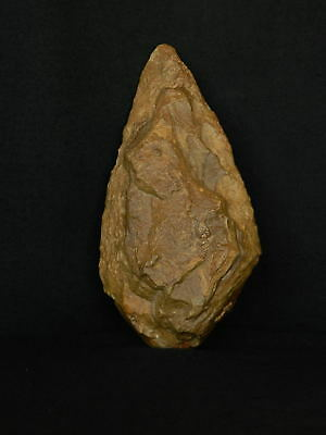 ANCIENT Quartzite HAND AXE - Acheulean Civilization -18 cm LONG - Sahara