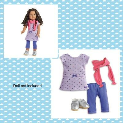 """American Girl TM RECESS READY OUTFIT~ NO SHOES for 18"""" Dolls School Clothes NEW"""