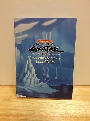 Avatar The Last Airbender The Complete Book 1  Collection 6-DVD Set Nickelodeon