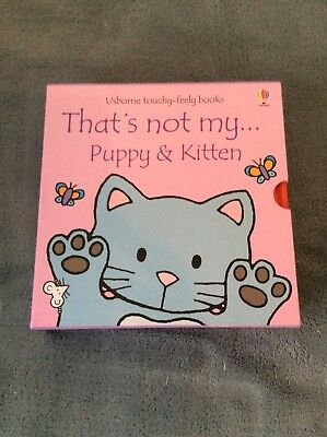 Thats Not My Kitten And Puppy Set Of Books