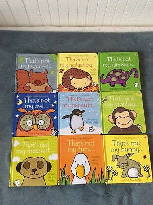 Thats Not My Books Set Of 9