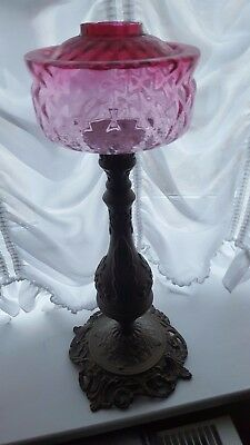 Oil lamp Edwardian