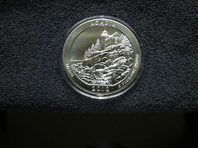 2012 Acadia 5 Oz  Silver Coin America The Beautiful Series