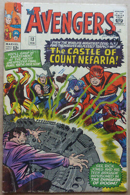 The Avengers #13, An Early Silver Age Classic With Great Cover!!