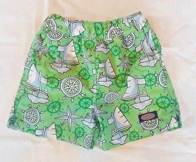 Boys bathing suit trunks by Vineyard Vines/Size 2T/Green/Nautical Theme