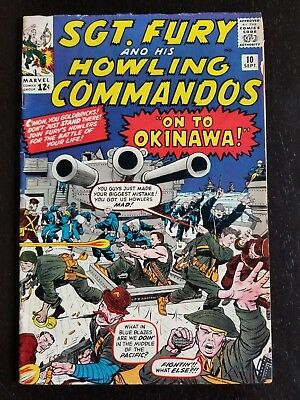 Sgt. Fury And His Howling Commandos #10 (Sep 1964, Marvel)