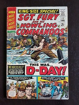 Sgt. Fury And His Howling Commandos King-Size Annual #2 (Aug 1966, Marvel)