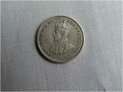 Australia Sterling Silver Threepence 3 Pence Coin 1936