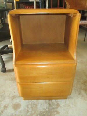 1950s RUSSEL WRIGHT NIGHTSTAND MCM 1-Owner Knoll Thayer Eames Baughman BIN