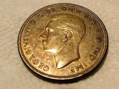 Australia 1937 Crown Nearly UNC condition nice original patina and dirty