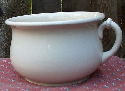 Antique Knowles Taylor Graniteware Chamber Pot de Chambre Potty Po Old Ceramic