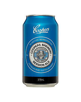Coopers Session Ale Cans 375mL case of 24 Craft Beer