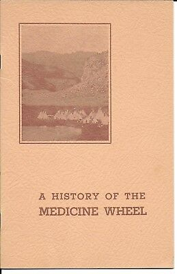 (Native Americans) History of the Medicine Wheel Booklet Wyoming c1930-40s