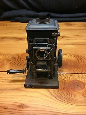 Antique Magic Lantern Projector Parts Only