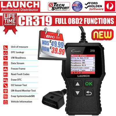 LAUNCH OBD2 EOBD Car Fault Code Reader Scanner Diagnostic Auto Engine Scan Tool