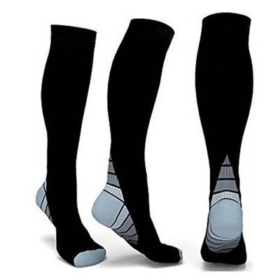 2019 15-30mmHg Medical Compression Socks Support Stockings Travel Flight Socks