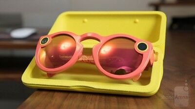 Spectacles - Sunglasses for Snapchat Snap , Coral Pink Orange *MINT*