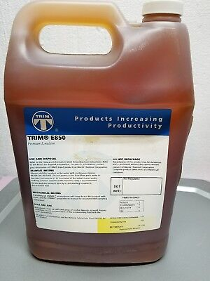 TRIM Coolant,1 gal,Can, E850, Amber
