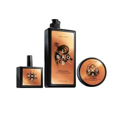 Bad Lab The Go Pack Gift Set for Men, 3 in 1 Hair, Face and Body Wash (13.5 oz)