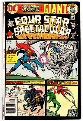 Four Star Spectacular #2 June 1976 F/VF 7.0 DC - Giant Sized - Wonder Woman
