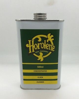 Horolene Concentrate Clock Cleaner Solution/Clean/Ammoniated/Cleaning/ 500ml