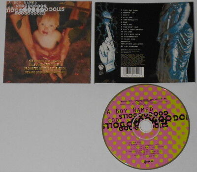 Goo Goo Dolls  A Boy Named Goo    U.S. promo cd  Gold DJ Stamp