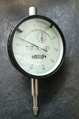 INSIZE DIAL INDICATOR 0-10 mm
