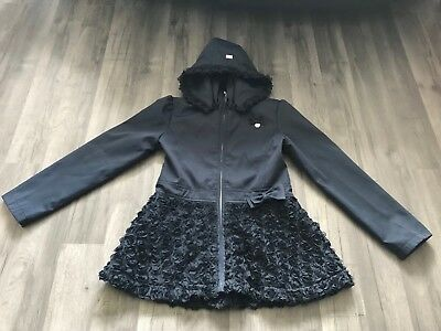 Girls Stunning Le Chic Navy Blue Jacket Size 134/140 Age 9 Years Excellent Con