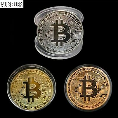 Collectible Bitcoin Iron Gift Commemorative Coin Silver Rare In Stock