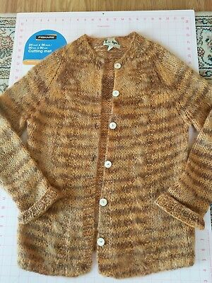BEAUTIFUL Vintage Italy Italian mohair Sweater hand knit by Apex  SPRING SALE