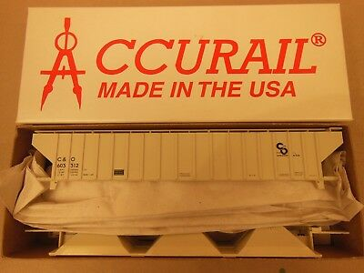 Accurail HO #77191 Lehigh & New Enland Offset Twin Hopper Kit Form Rd #13347
