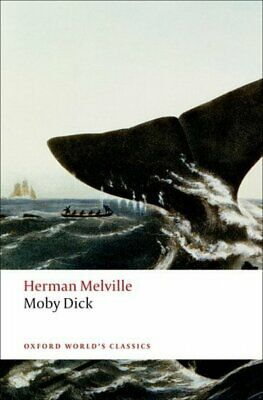 Oxford World's Classics: Moby Dick by Herman Melville (Paperback)