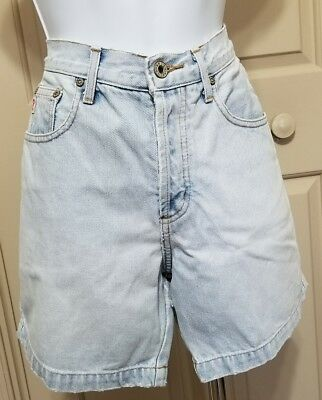 Guess Denium Light Blue Shorts with button fly and zipper Size 28
