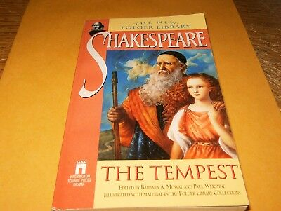 The Tempest  by William Shakespeare, PB Book, Good-Shape,1994.