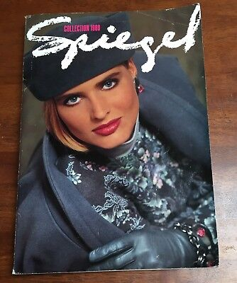 Vtg Spiegel Catalog 1989 Fall and Winter Collection, clothing and home fashion