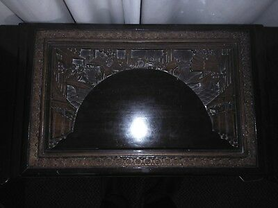 Antique Chinese Camphor Wood Blanket Chest