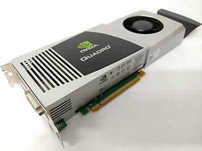 *LOT OF 2* Nvidia Quadro FX 4800 1.5GB GDDR3 PCIe Video Card 0Y451H 01G28H