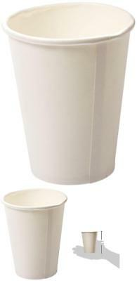 Disposable Paper Coffee Cups 12 Oz Disposable Hot Cup Home Office 50 Pack