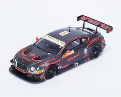 Bentley Continental Gt3 #8 Gp Macau Gt Cup 2015 Adderly Fong SPARK 1:43 SA092 Mo