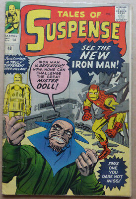 TALES OF SUSPENSE #48, 1st RED & GOLD ARMOURED IRON MAN!!!