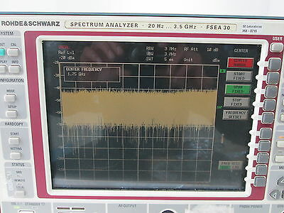 Rohde & Schwarz FSEA30 20Hz-3.5GHz Spectrum Analyzer OPT FSE-B7 FSE-13   DE31451