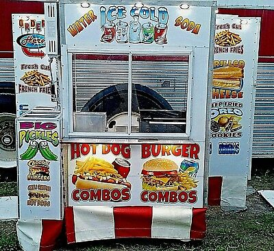 CUSTOM VENDING FOOD CART W/automatic Fire system ansul,CONCESSION,HOT DOG,STREET