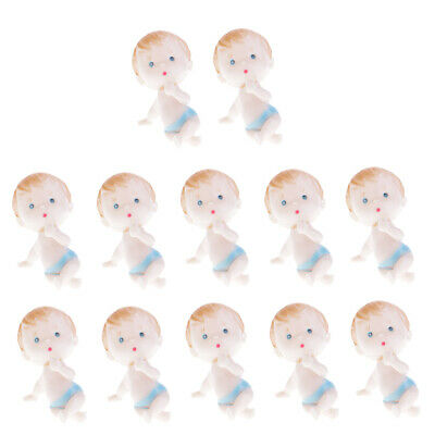 12pcs Mini Newborn Babies Baby Shower Party Table Decor My Water Broke Game
