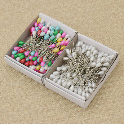 144pcs Sewing DIY Pearl Pin Bead Big Head Needle Sewing Fixed Positioning Needle