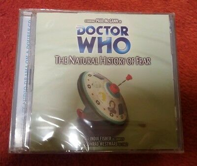 Doctor Who 54 NATURAL HISTORY OF FEAR Big Finish audio CD NEW SEALED Paul McGann