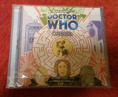 Doctor Who 63 CAERDROIA Big Finish audio CD NEW & SEALED Paul McGann Dr8 Charley