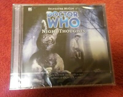 Doctor Who 79 NIGHT THOUGHTS Big Finish audio CD NEW & SEALED Sylvester McCoy