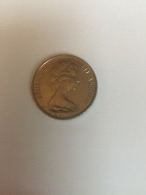 1983 Bermuda Queen Elizabeth II Five Cent Coin!